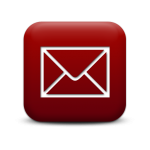 Mail Icon Red Button